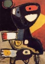 Karel Appel. Niños preguntando,1948
