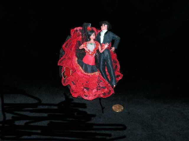 Bailarines de flamenco. Sheffield.