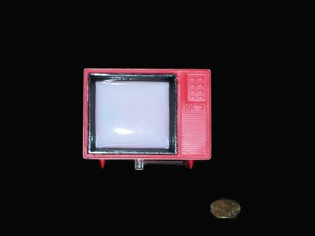 Television con diapositivas. Argentina.